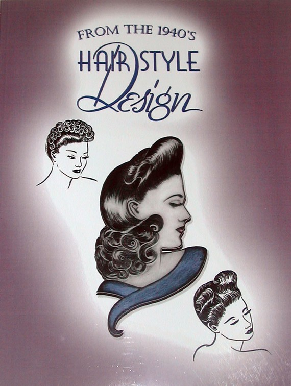 1940s Glamorous Hairstyles WWII Homefront Wartime 40s Hair